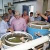 Governo e universidade norte-americana visitam centro de aquicultura