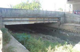 Ponte do Salgadinho vai ser interditada para conserto de emissário