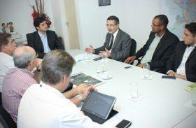 Governo e Prefeitura discutem infraestrutura do Núcleo Industrial Bernardo Oiticica