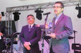 Secretário Luiz Otavio é premiado pela Associação dos Supermercados de Alagoas