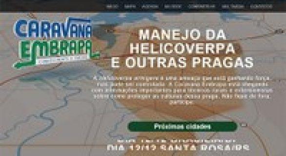 Caravana Embrapa pode ser acompanhada pela internet