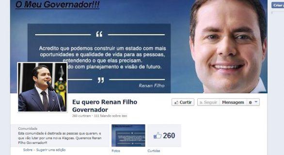 No Face: amigos lançam candidatura de Renan Filho ao governo