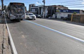 Prefeitura fixa nova data para implantação da faixa para ônibus