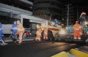 Seminfra intensifica recapeamento em bairros de Maceió