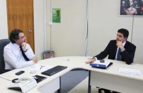 Em Brasília: Prefeito busca apoio do Ministério da Saúde