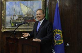Renan comemora aliança do PMDB com o PT