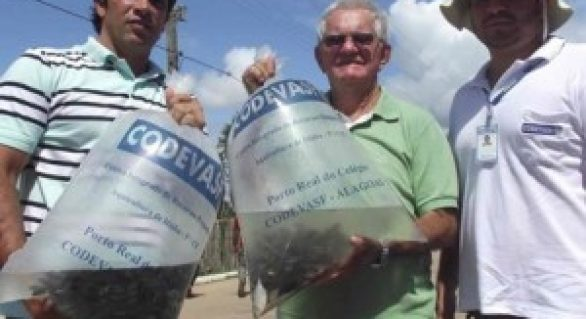 Codevasf fortalece pesca artesanal e piscicultura familiar em Feliz Deserto (AL)