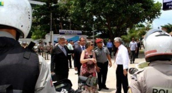 Maceió ganha novos postos policiais