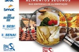Senac Alagoas executa Programa Alimentos Seguros