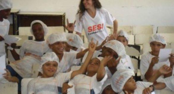 Alagoas é o primeiro estado a ter turmas do Cozinha Brasil Infantil