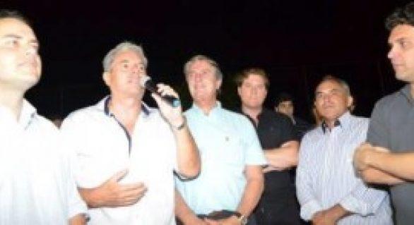 Celso Luiz é prestigiado por lideranças políticas durante entrega de obra em Canapi