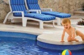 Nas piscinas ocorrem 53% dos óbitos por afogamento de crianças entre 1 e 9 anos
