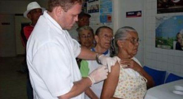 Maceió: vacinação contra gripe começa no dia 22 de abril