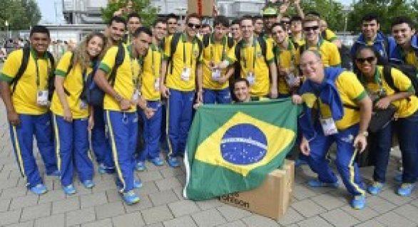 Brasil vence competição internacional de educação técnica