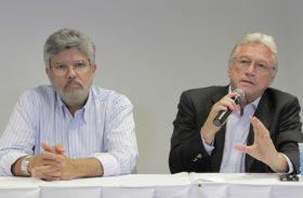 """Téo reage à pressão: """"ET será candidato até com o PSDB sozinho"""""""