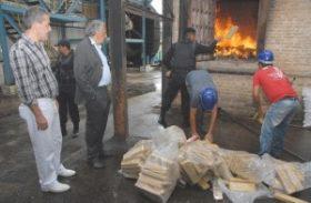 Vigilância Sanitária Estadual acompanha incineração de drogas