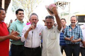 Biu recebe apoio em Girau do Ponciano e defende mais investimentos em habitação