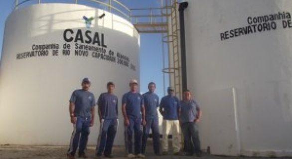 Obra garante água para mais de 10 mil pessoas em Rio Novo