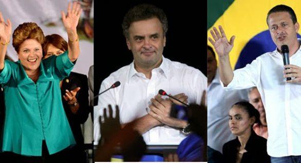 Datafolha: Dilma tem 36% das intenções de voto; Aécio, 20% e Campos, 8%
