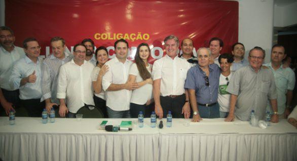 Coligação para estadual 'esquenta' clima na Frente de Oposição