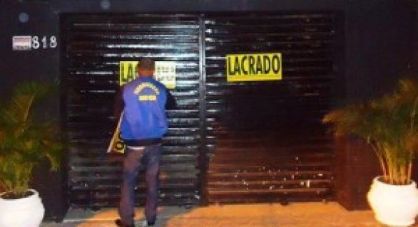 SMCCU interdita 19 estabelecimentos irregulares em Maceió