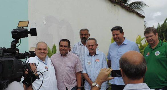 Omar Coelho recebe apoio do deputado Inácio Loiola na disputa para Senado