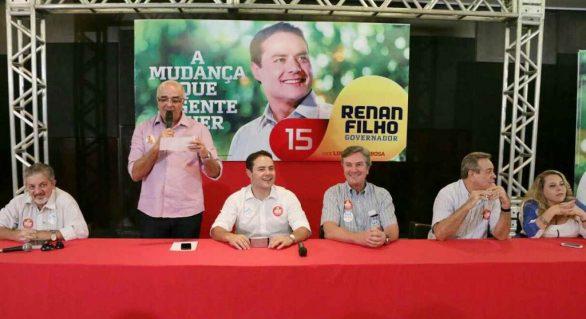Reunião da coligação liderada pelo PMDB destaca unidade do grupo