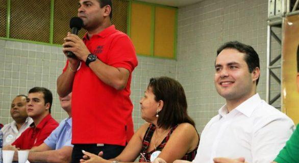 Silvânio Barbosa oficializa apoio a candidatura de Renan Filho