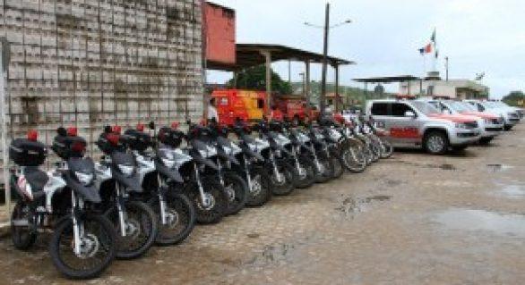 Segurança pública de Arapiraca ganha novos veículos