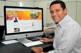 Júlio Cezar encerra campanha nas redes sociais pedindo votos