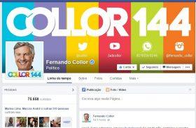 Líder nas redes sociais, Collor ganha força entre os jovens