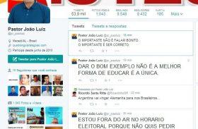Marqueteiro nega veto ao Pastor João Luiz no Guia Eleitoral