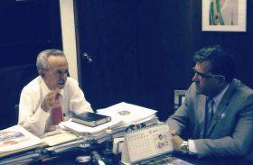 Presidente da AMA pede apoio a senadores em Brasília