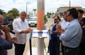 Governo inaugura acesso a estrada e estação de água no Sertão de AL