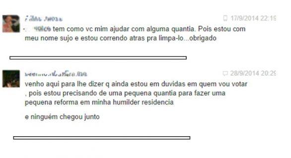 Escancarado: eleitores de Alagoas vendem votos até pelo Facebook
