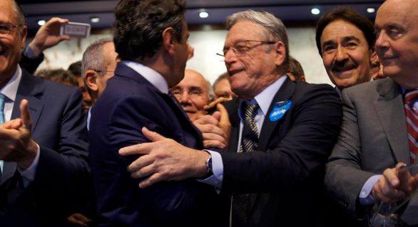 Aécio Neves tem apoio de 57 prefeitos em Alagoas, diz Vilela