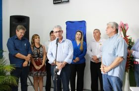 Governador Teotonio Vilela inaugura Central JÁ! em Penedo