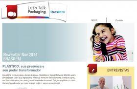 Braskem lança plataforma de comunicação para disseminar o uso do plástico na cadeia de embalagens