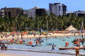 Aumenta número de trechos próprios para banho na costa de Alagoas