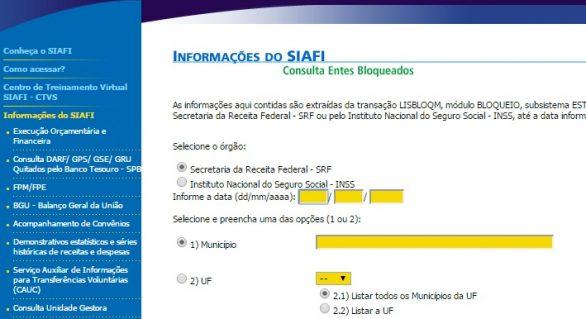Governo bloqueia repasse de FPM de 11 prefeituras de Alagoas