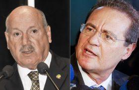 Renan tenta evitar disputa com Luiz Henrique no plenário do Senado