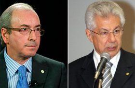 Eduardo Cunha e Chinaglia 'brigam' por votos de deputados em AL