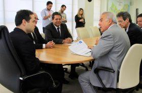 Governador Renan Filho recebe Diretoria Executiva do Sebrae
