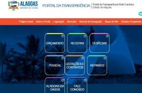Portal da transparência do Estado não é atualizado desde 2014