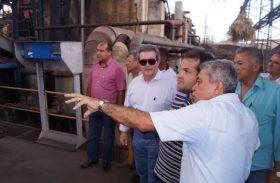Secretários conhecem parque industrial de Pindorama, referência em cooperativismo