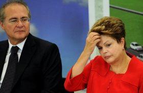 Renan critica redução de prazo no processo de Impeachment de Dilma