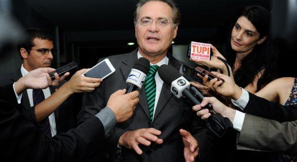 Renan diz que corte de ministérios é um grande exemplo para ajuste fiscal