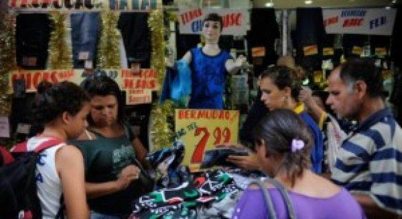 Descontada a inflação, varejo avançou 2,7% em 2013