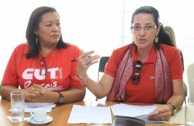 Servidores recusam 5% e fazem protesto pelos 6,141% do IPCA