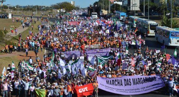 Marcha das Margaridas defende fortalecimento da democracia